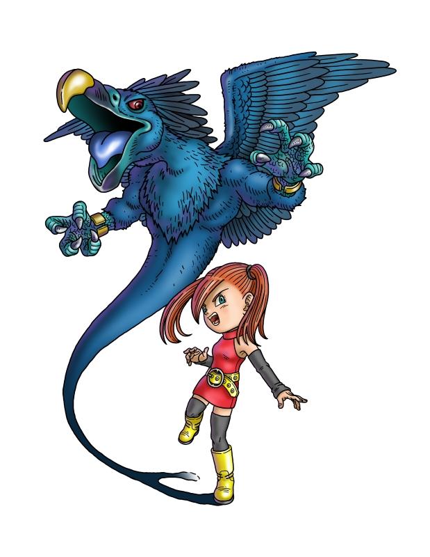 Presque toutes les œuvres d'Akira Toriyama – Semaine du 18 juin au 24 juin - Blue Dragon
