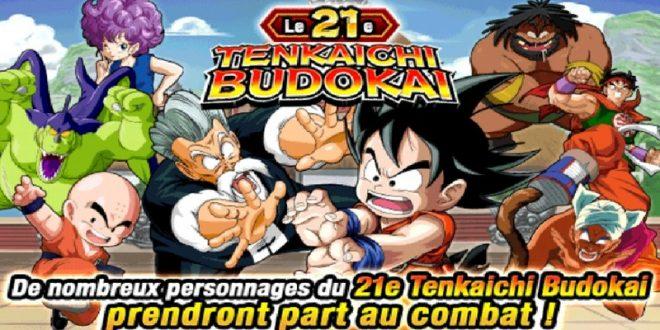 Le 21ème Tenkaichi Budokai dans Dragon Ball Z Dokkan Battle a commencé