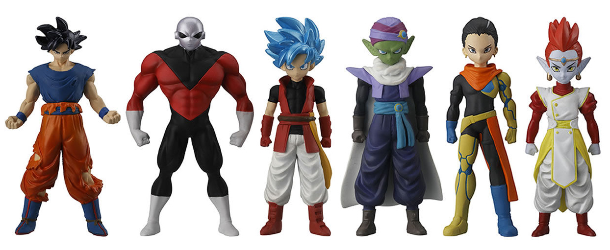 Super Dragon Ball Heroes : Les SKILLS FIGURE arrivent le 29 juin 2018