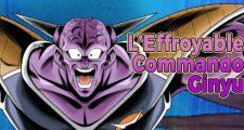 Dragon Ball Legends - L'Effroyable Commando Ginyu