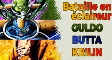 Dragon Ball Legends - Bataille en éclaireur - Guldo Butta Krilin