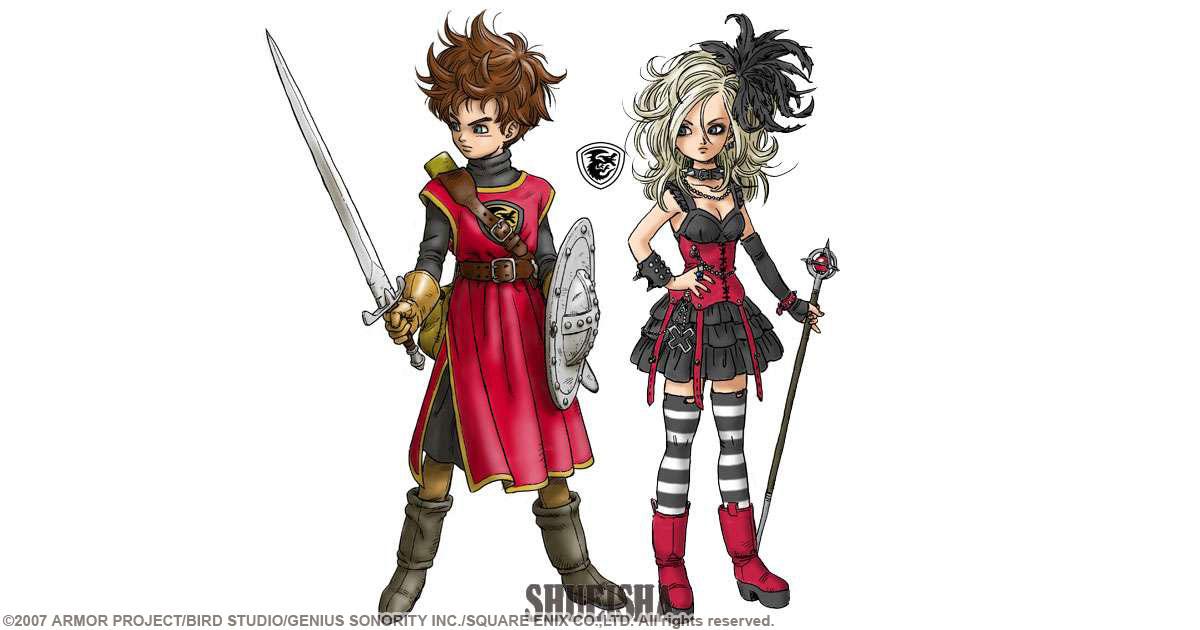 Presque toutes les œuvres d'Akira Toriyama – Semaine du 9 au 15 juillet - Dragon Quest Swords