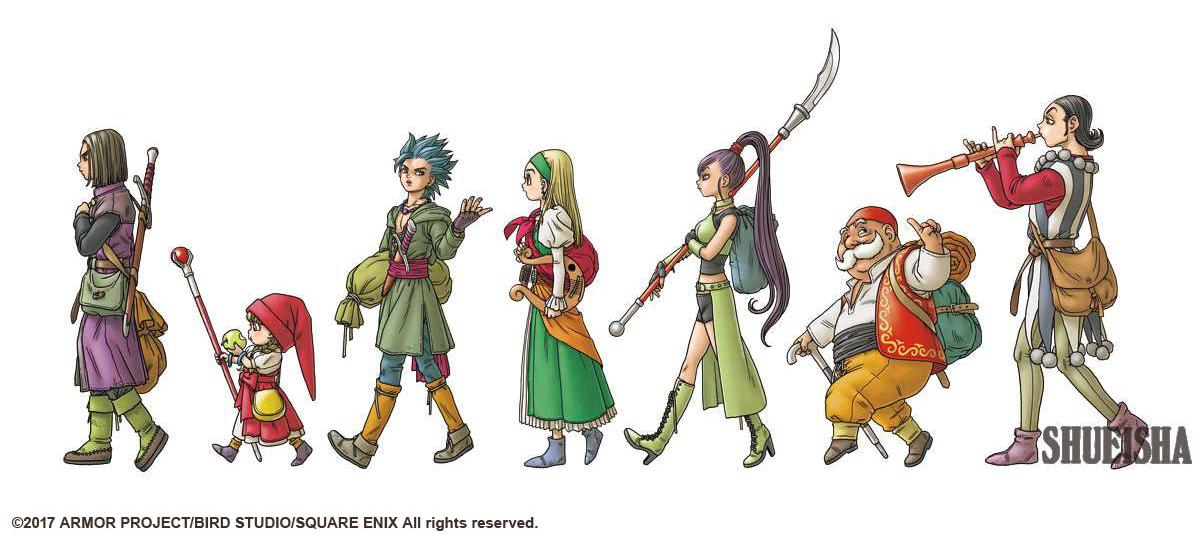 Presque toutes les œuvres d'Akira Toriyama – Semaine du 23 au 29 juillet - Dragon Quest XI