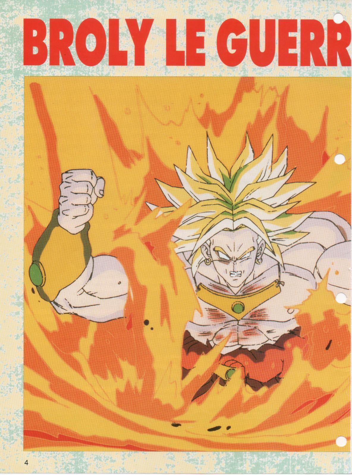 Dragon Ball Z – Nostalgie Club Do 22 - Broly le Guerrier Millénaire