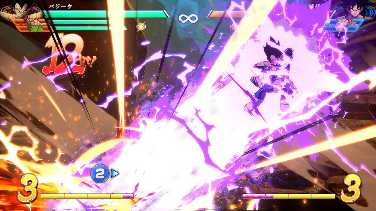 Dragon Ball FighterZ : Vegeta base Garlick Gun