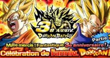 Dragon Ball Z Dokkan Battle : Campagne des 3 ans de Dokkan Battle - 2ème Partie