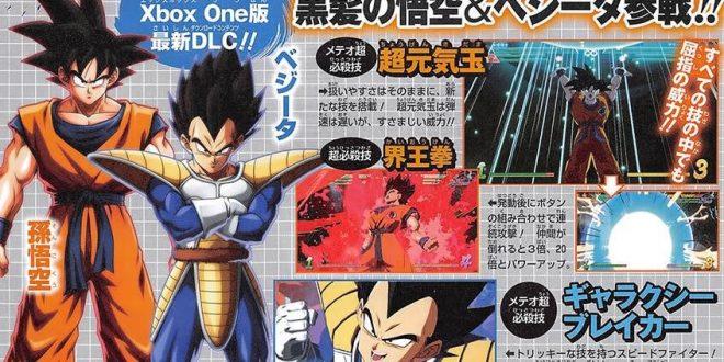 Dragon Ball FighterZ : Gokû et Vegeta dans leur forme de base annoncés