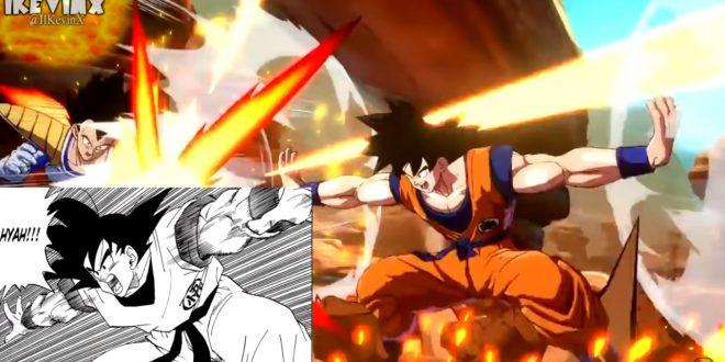 Dragon Ball FighterZ : Les références de Gokû et Vegeta au manga et à l'anime