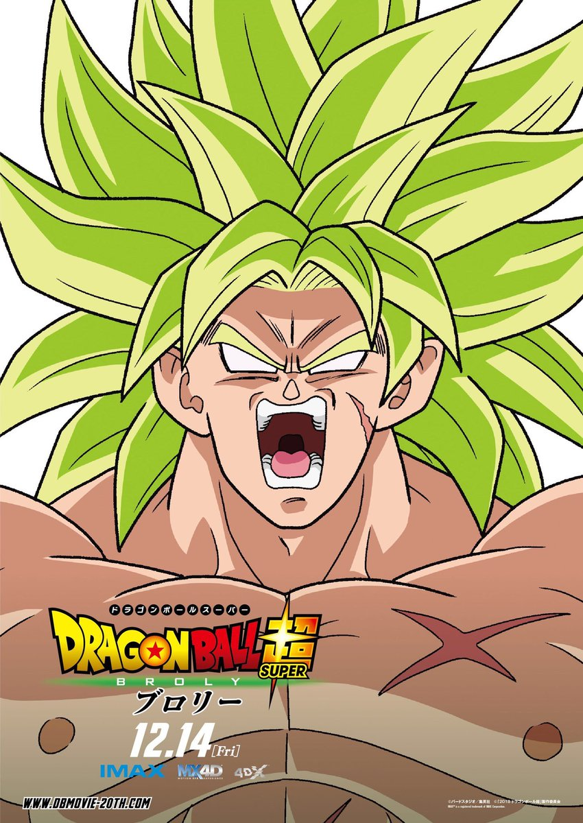 Dragon Ball Super BROLY : Broly Full Power