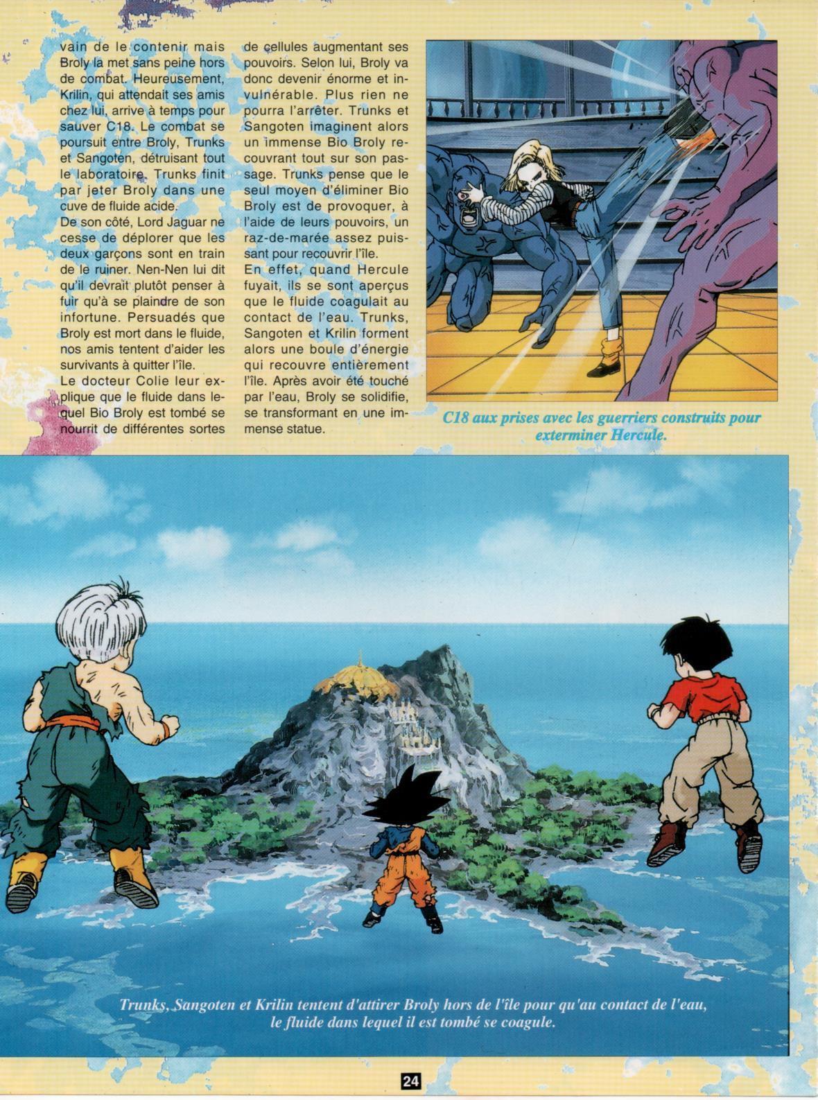 Dragon Ball Z – Nostalgie Club Do 24 - Bio Broly