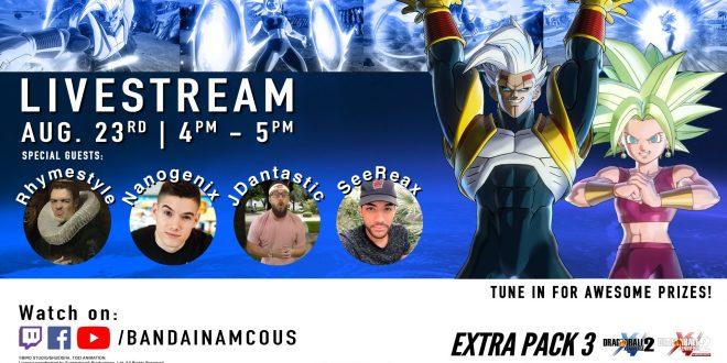 Dragon Ball Xenoverse 2 : Une présentation de l'EXTRA PACK 3 le 24 août