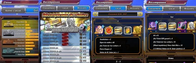 Le 22ème Tenkaichi Budokai dans Dragon Ball Z Dokkan Battle a commencé