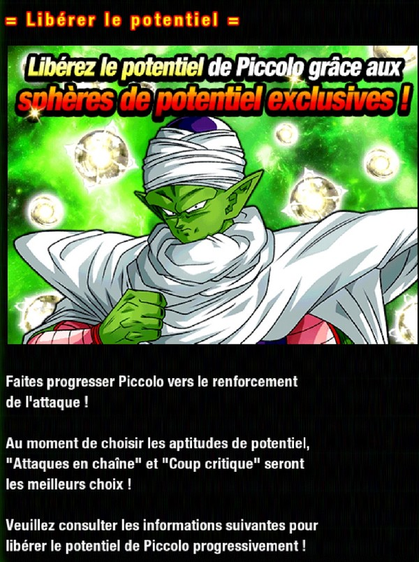 Dragon Ball Z Dokkan Battle : Le Redoutable Commando Ginyu