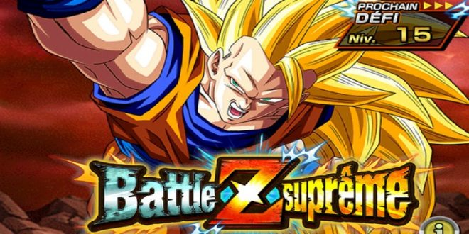 Dragon Ball Z Dokkan Battle : Son Gokû SSJ3- Battle Z Suprême