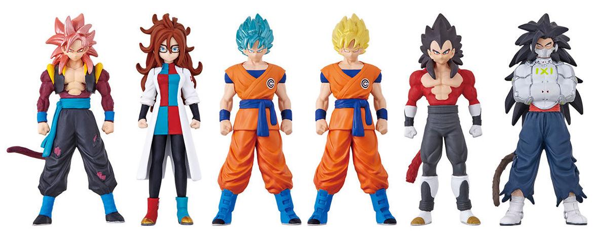 Skills Figures Super Dragon Ball Heroes Universe Mission 4