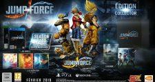 JUMP FORCE : Date de sortie, édition collector, bonus de précommande et nouveaux personnages