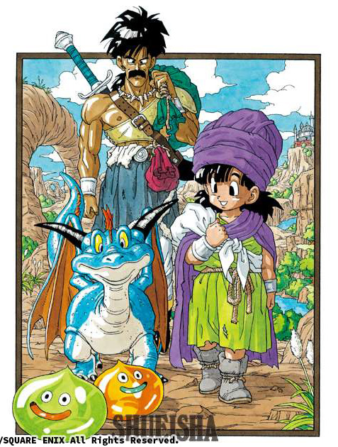 Presque toutes les œuvres d'Akira Toriyama – Semaine du 24 au 30 septembre - Dragon Quest V La Fiancée Céleste