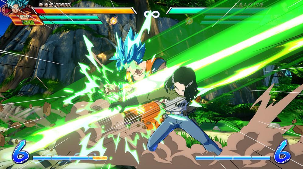 C17 de Dragon Ball Super dans Dragon Ball FighterZ