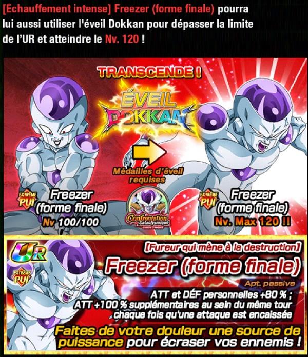 Dragon Ball Z Dokkan Battle : Confrontation Cataclysmique Contre Freezer