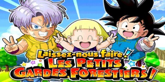 Dragon Ball Z Dokkan Battle : Les Petits Gardes Forestiers