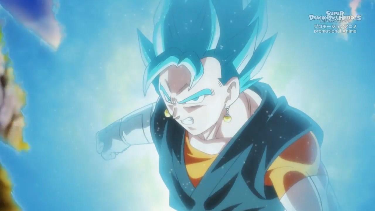 Super Dragon Ball Heroes Vegetto Blue