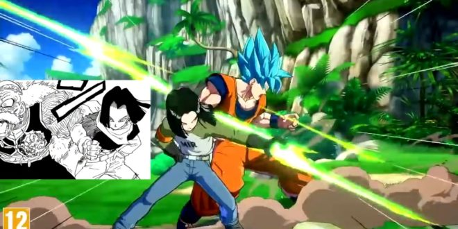 Dragon Ball FighterZ : Les références de C17 au manga et à l'anime