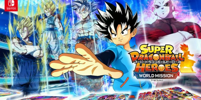 Super Dragon Ball Heroes World Mission : Ouverture du site officiel