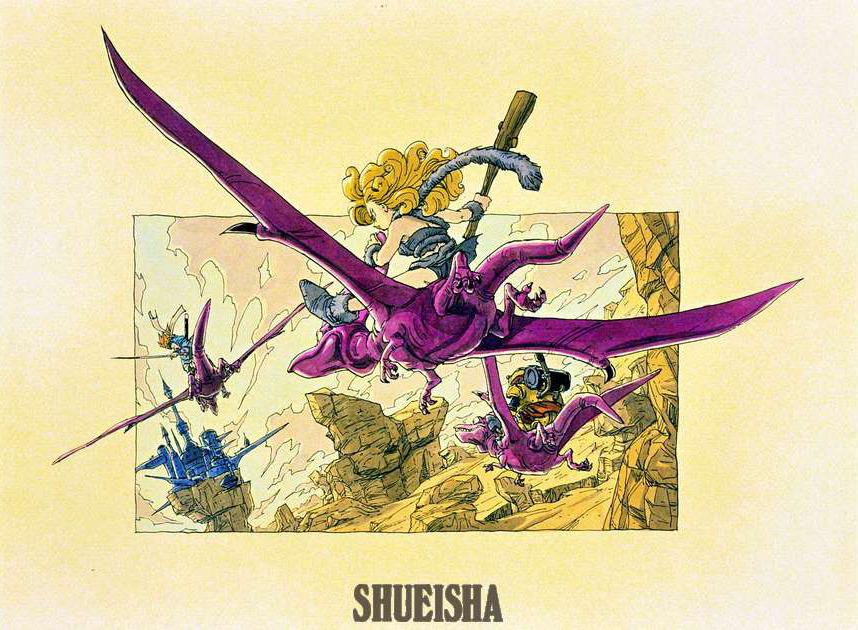 Presque toutes les œuvres d'Akira Toriyama – Semaine du 22 au 28 octobre - Chrono Trigger Ayla RoBo Chrono