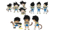 Dragon Ball Super BROLY : Chara Designs de Goku, Vegeta et Broly enfants