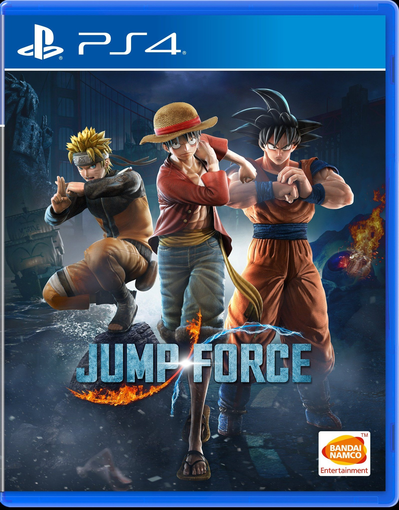 Jaquette JUMP FORCE PS4