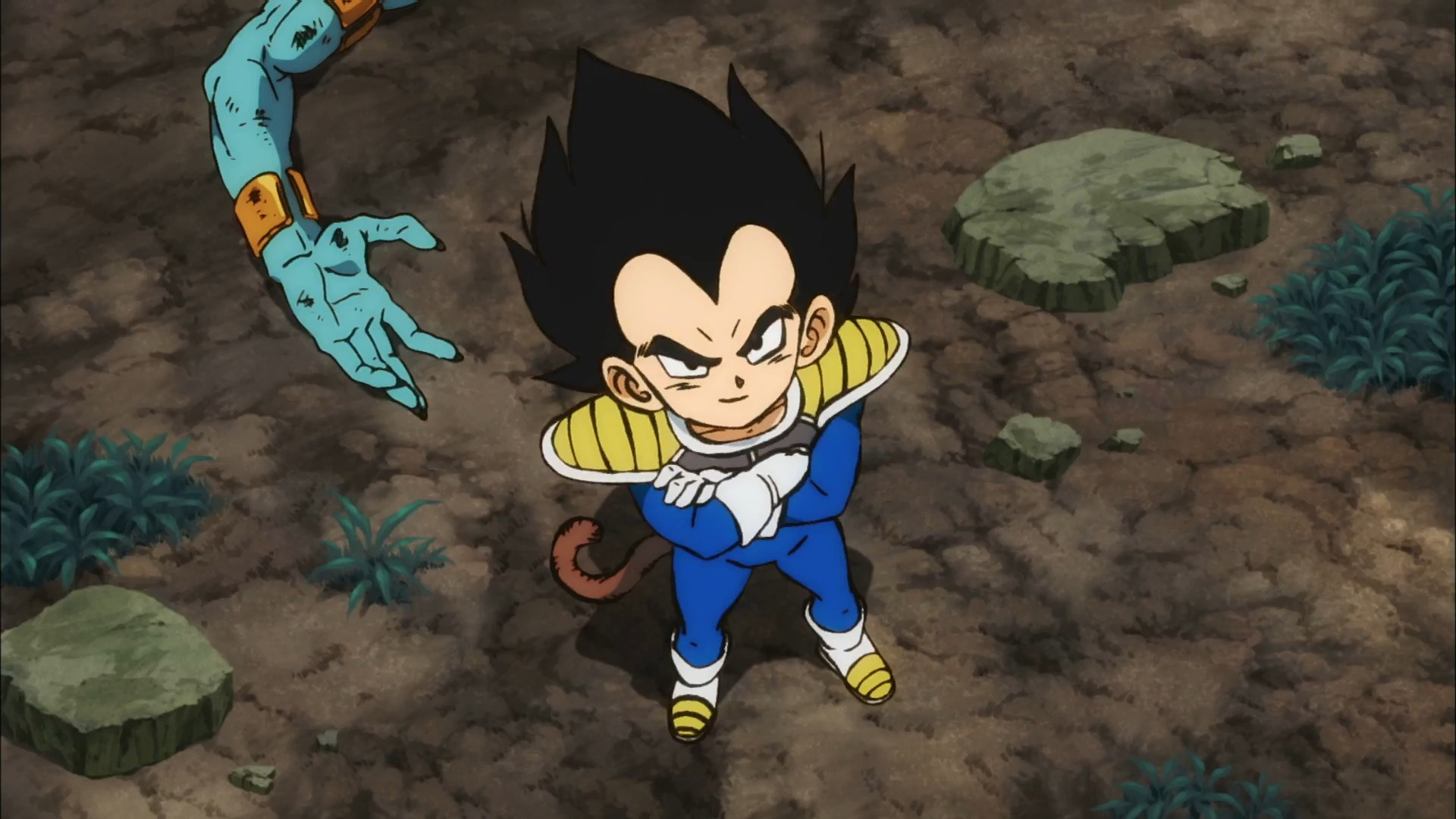 Dragon Ball Super BROLY : Vegeta enfant