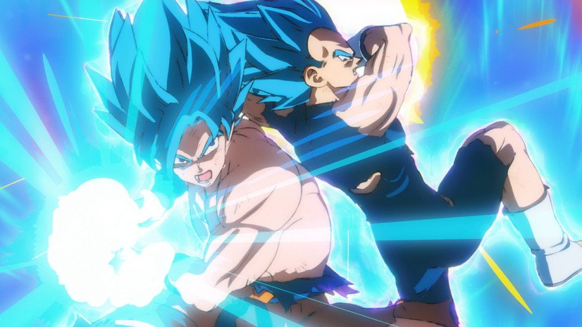 Dragon Ball Super BROLY - Goku et Vegeta Blue VS Broly