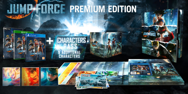 JUMP FORCE : Éditions Standard, Deluxe, Ultimate, Premium et Collector