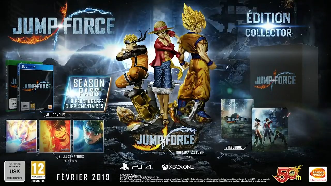 JUMP FORCE EDITION COLLECTOR