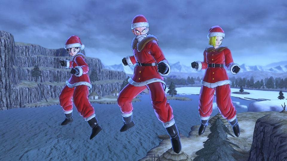 Dragon Ball Xenoverse 2 : Costumes de Père Noël