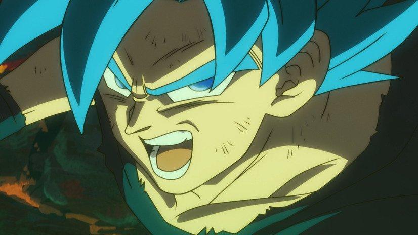 Dragon Ball Super BROLY - Goku Super Saiyan Blue