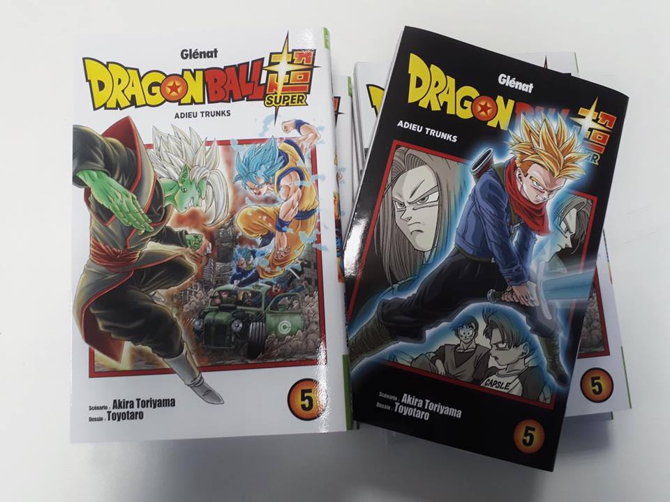 Dragon Ball Super tome 5 - couverture réversible spéciale Trunks