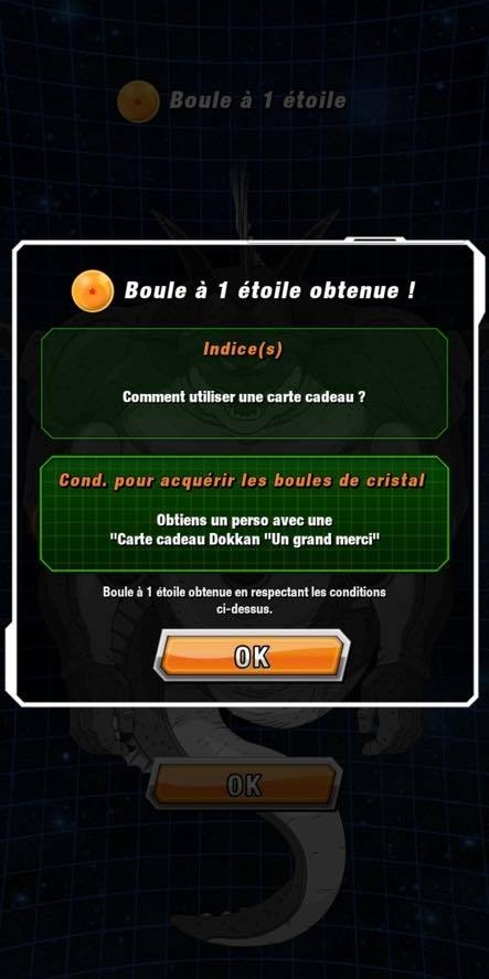 Dragon Ball Z Dokkan Battle : Obtenir les Dragon Ball de Namek 3 - Porunga