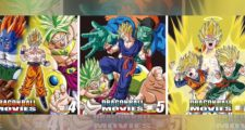 Dragon Ball The Movies Blu-ray : Visuels des volumes 4, 5 et 6