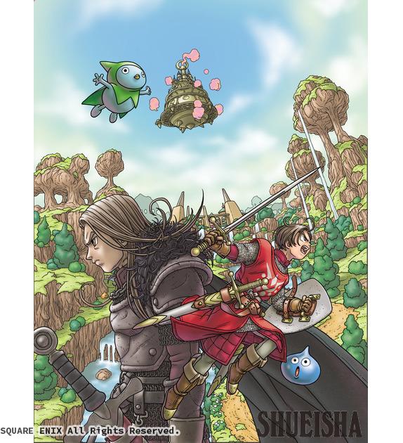 Presque toutes les œuvres d'Akira Toriyama – Semaine du 12 au 18 novembre - Dragon Quest X