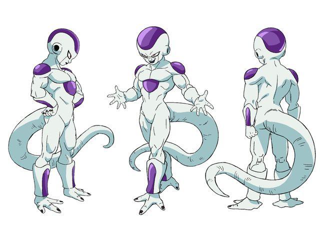 Chara designs de Freezer par Shintani - Dragon Ball Super Broly