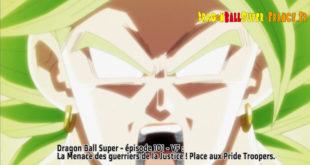 Dragon Ball Super Épisode 101 : Diffusion française