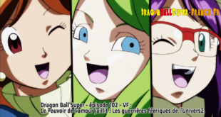 Dragon Ball Super Épisode 102 : Diffusion française