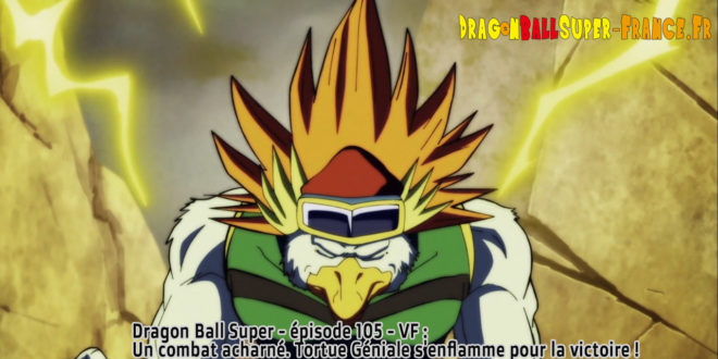 Dragon Ball Super Épisode 105 : Diffusion française