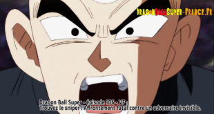 Dragon Ball Super Épisode 106 : Diffusion française