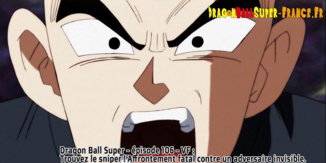 Dragon Ball Super Épisode 106 : Diffusion française