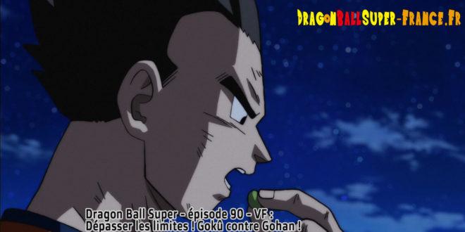 Dragon Ball Super Épisode 90 : Diffusion française