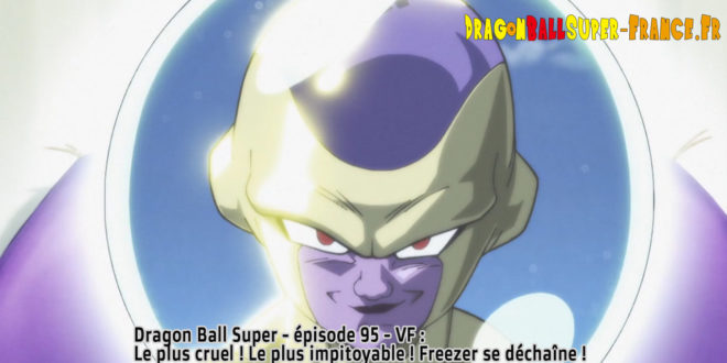 Dragon Ball Super Épisode 95 : Diffusion française