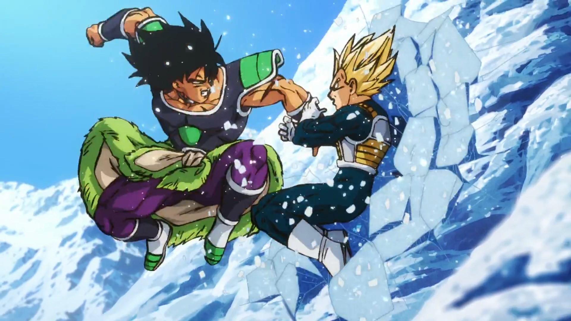 Dragon Ball Super Broly : Broly VS Vegeta