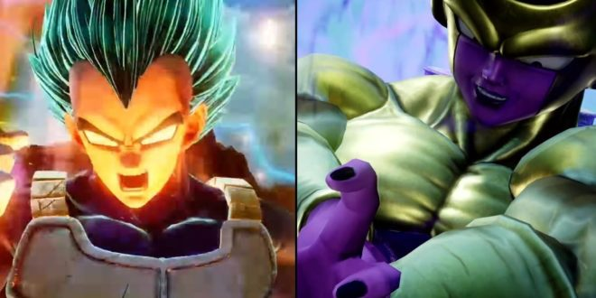 JUMP FORCE : Vegeta Super Saiyan Blue et Golden Freezer confirmés